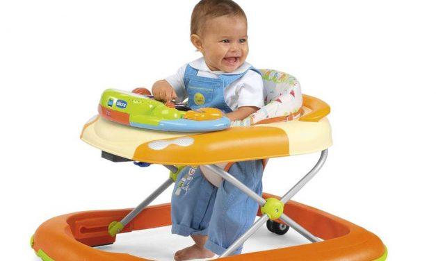 Consejos para elegir un andador de bebés