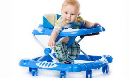 ¿Cuál es el mejor andador para bebés? desarrollo psicomotor y accidentes